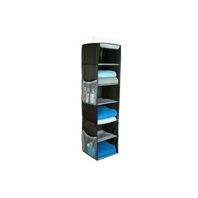 Richards Homewares Gearbox StorageCaddy 6-Shelf Sweater Hanging Organizer