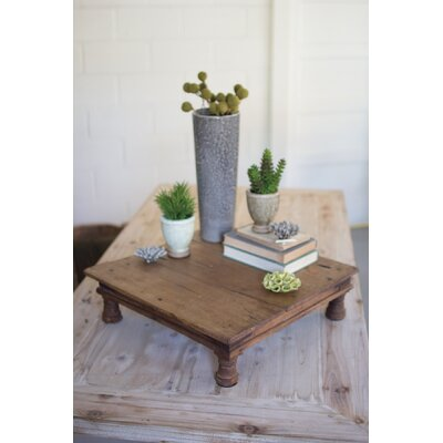 Jacobs Repurposed Antique Wooden Riser End Table