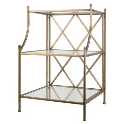 Bethesda Multi-Tiered Telephone Table Color: Bronze