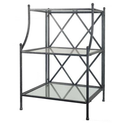 Bethesda Multi-Tiered Telephone Table Color: Black