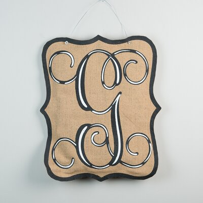 1-Line Wall Address Plaque Letter: G