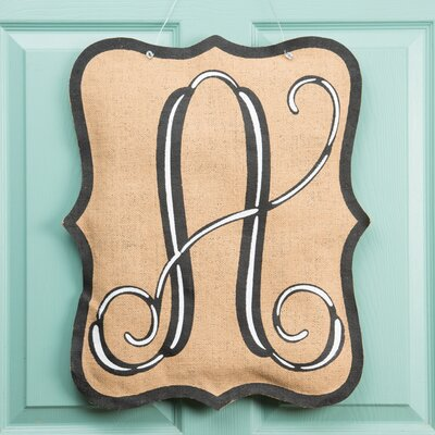1-Line Wall Address Plaque Letter: A