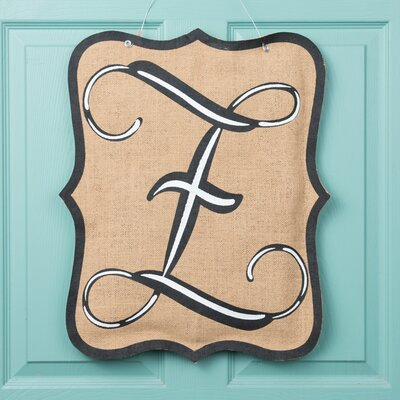 1-Line Wall Address Plaque Letter: F