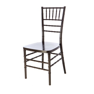 American Classic European Solid Wood Dining Chair Finish: Black