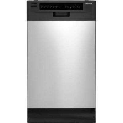 18'' 55 dBA Built-In Dishwasher Color: Silver