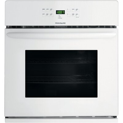 30'' Self-Cleaning Electric Single Wall Oven Color: White
