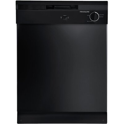 "24"" Built-In Dishwasher with Delay Wash Color: Black"