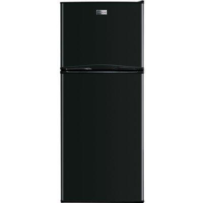 11.5 cu. ft. Top Freezer Refrigerator Color: Black