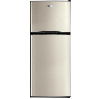 11.5 cu. ft. Top Freezer Refrigerator Color: Silver Mist