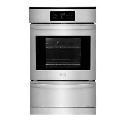 24'' Single Gas Wall Oven Color: Silver