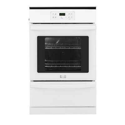 24'' Single Gas Wall Oven Color: White