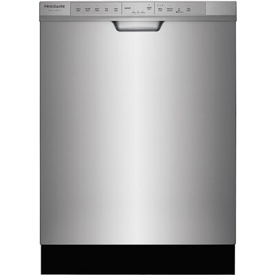 """24"""" 54 dBA Built-In Dishwasher with Orbit Clean Color: Silver"""