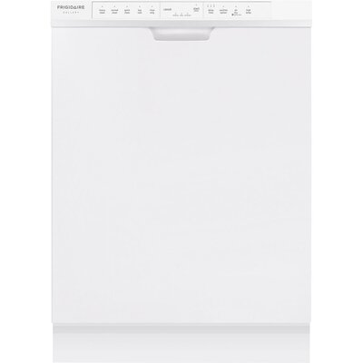 """24"""" 54 dBA Built-In Dishwasher with Orbit Clean Color: White"""