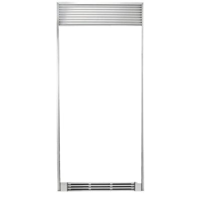 """Refrigerator Trim Kit Size: 79"""" H x 33"""" W x 25.25""""D"""
