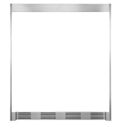 """Refrigerator Trim Kit Size: 79"""" H x 66"""" W x 25.25""""D"""