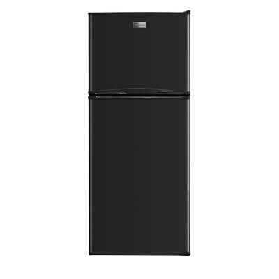 10 cu. ft. Top Freezer Refrigerator Color: Black