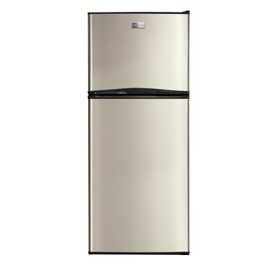 10 cu. ft. Top Freezer Refrigerator Color: Silver Mist