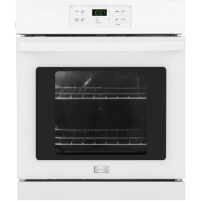 24'' Electric Single Wall Oven Color: White