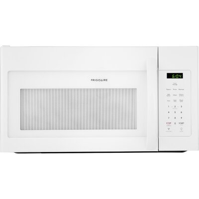 """30"""" 1.6 cu. ft. Over-The-Range Microwave Color: White"""