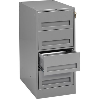 "32"" H x 15"" W x 24"" D Modular Drawer Cabinet Color: Light Grey"