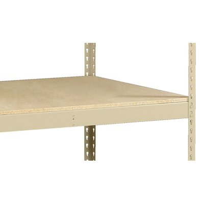 "Z-Line Heavy Duty Extra Shelf w/ Decking Finish: Sand, Size: 48"" W x 30"" D"