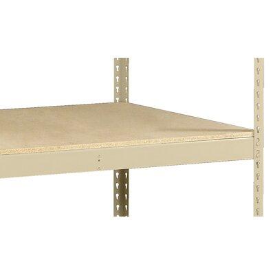 """Z-Line Heavy Duty Extra Shelf w/ Decking Finish: Sand, Size: 48"""" W x 30"""" D"""