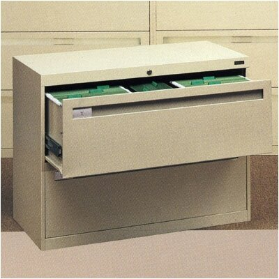 """2-Drawer File Finish: Light Grey, Size: 27.56"""" H x 30"""" W x 17.94"""" D, Pull Type: Long Pull"""