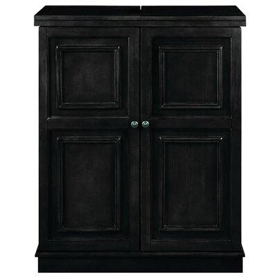 Bar Cabinet Color: Black