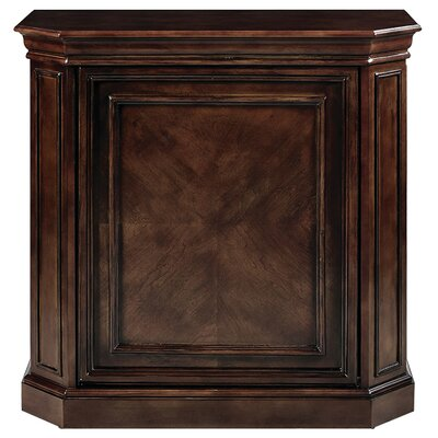 Bar Cabinet with Spindle Color: Cappuccino