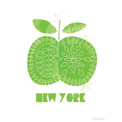 Art Group NY Apple by Birorobot Canvas Wall Art