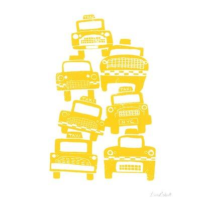 Art Group Cabs by Birorobot Canvas Wall Art