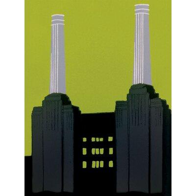 Art Group Battersea Power Station by Jennie Ing Canvas Wall Art