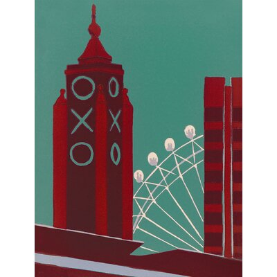 Art Group Oxo by Jennie Ing Canvas Wall Art