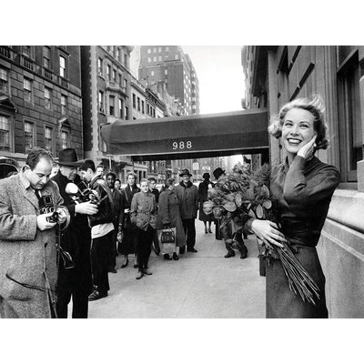 Art Group Grace Kelly - New York by Time Life Canvas Wall Art