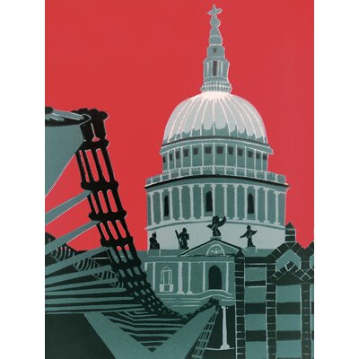 Art Group St. Paul's Cathedral by Jennie Ing Canvas Wall Art