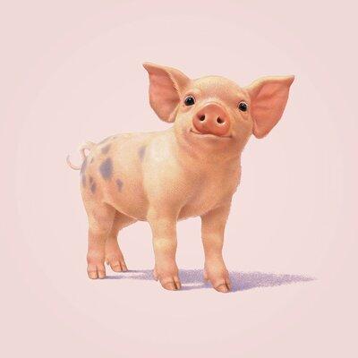 Art Group Pig by John Butler Canvas Wall Art