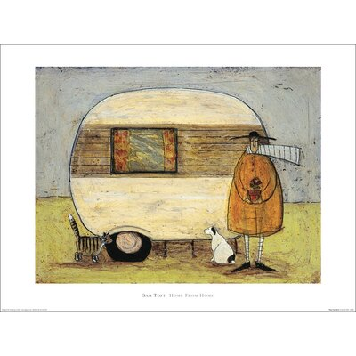 Art Group Home From Home by Sam Toft Art Print