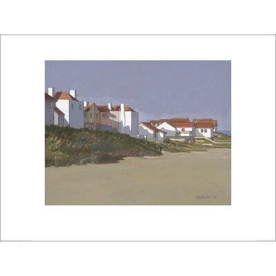 Art Group Beach Houses, Thorpness by John Sprakes Art Print
