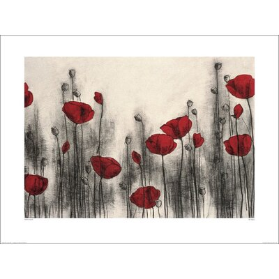 Art Group Red Poppies by Hans Andkjaer Art Print