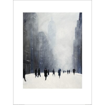Art Group Blizzard - 5th Avenue by Jon Barker Art Print