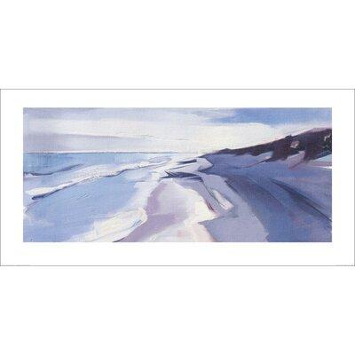 Art Group Walberswick Beach by Charlotte Jordan Art Print