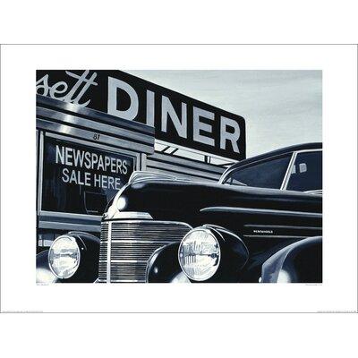 Art Group Massachusetts Diner by Alain Bertrand Photographic Print