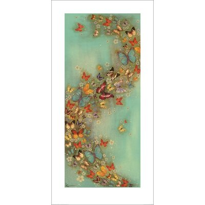 Art Group Chinese Green by Lily Greenwood Art Print