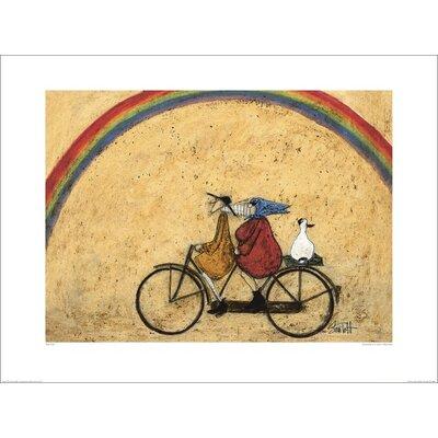 Art Group Somewhere Under a Rainbow by Sam Toft Art Print
