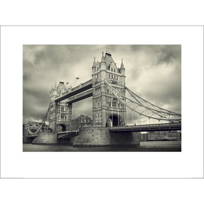 Art Group Tower Bridge by James Lazos Photographic Print