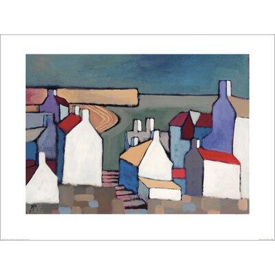 Art Group Seaside Town by Derek Melville Art Print