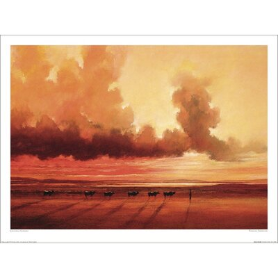 Art Group Turkana Shoreline by Jonathan Sanders Art Print