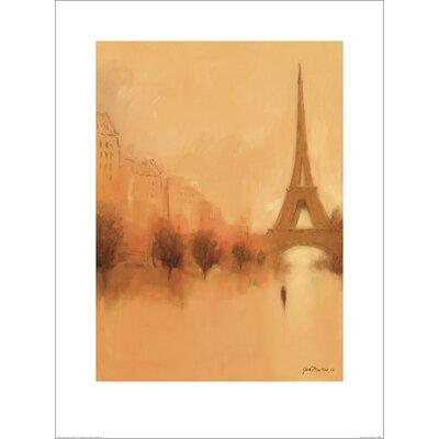 Art Group Stranger in Paris by Jon Barker Art Print
