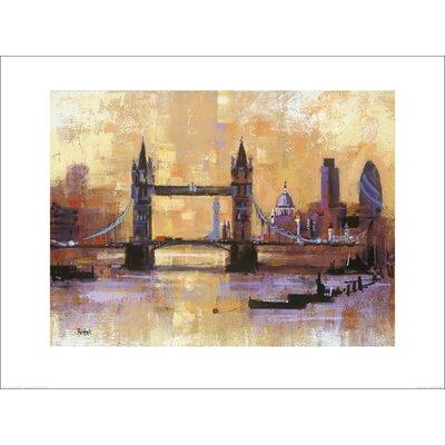 Art Group Tower Bridge, London by Colin Ruffell Art Print