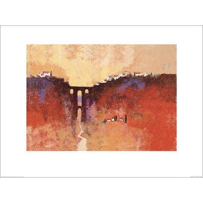 Art Group New Bridge, Ronda by Colin Ruffell Art Print